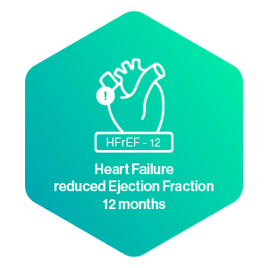 Heart Failure reduced Ejection Fraction 12 months