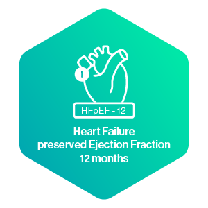 Heart Failure preserved Ejection Fraction 12 months