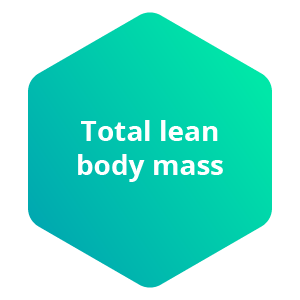 total lean body mass